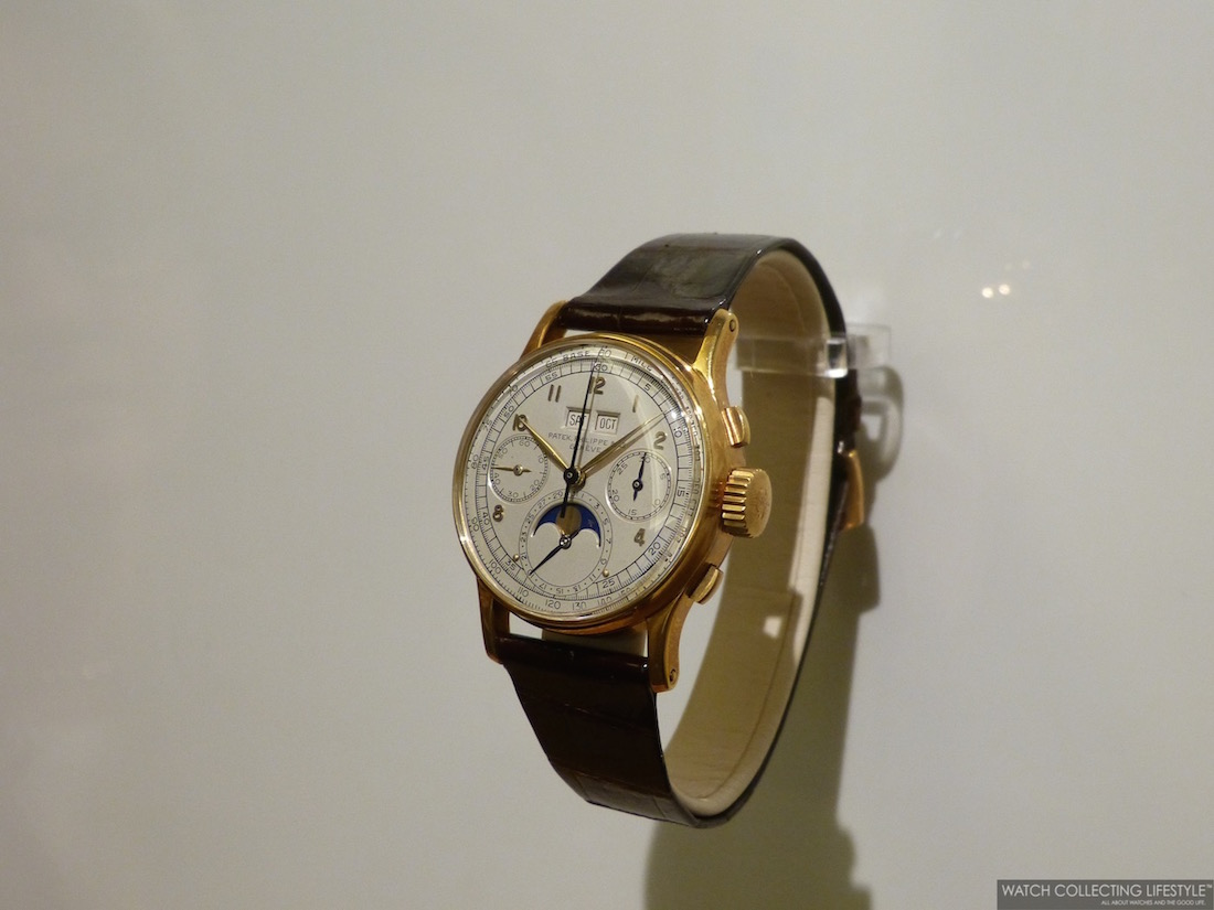 Unique Piece Patek Philippe ref. 1527 Gifted to Mr. Henri Stern by his father Mr. Charles Henri Stern.