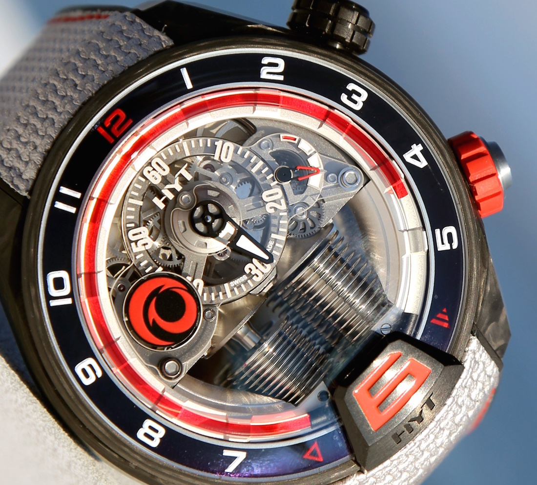 News: Introducing the HYT H4 Alinghi  Live Pictures and