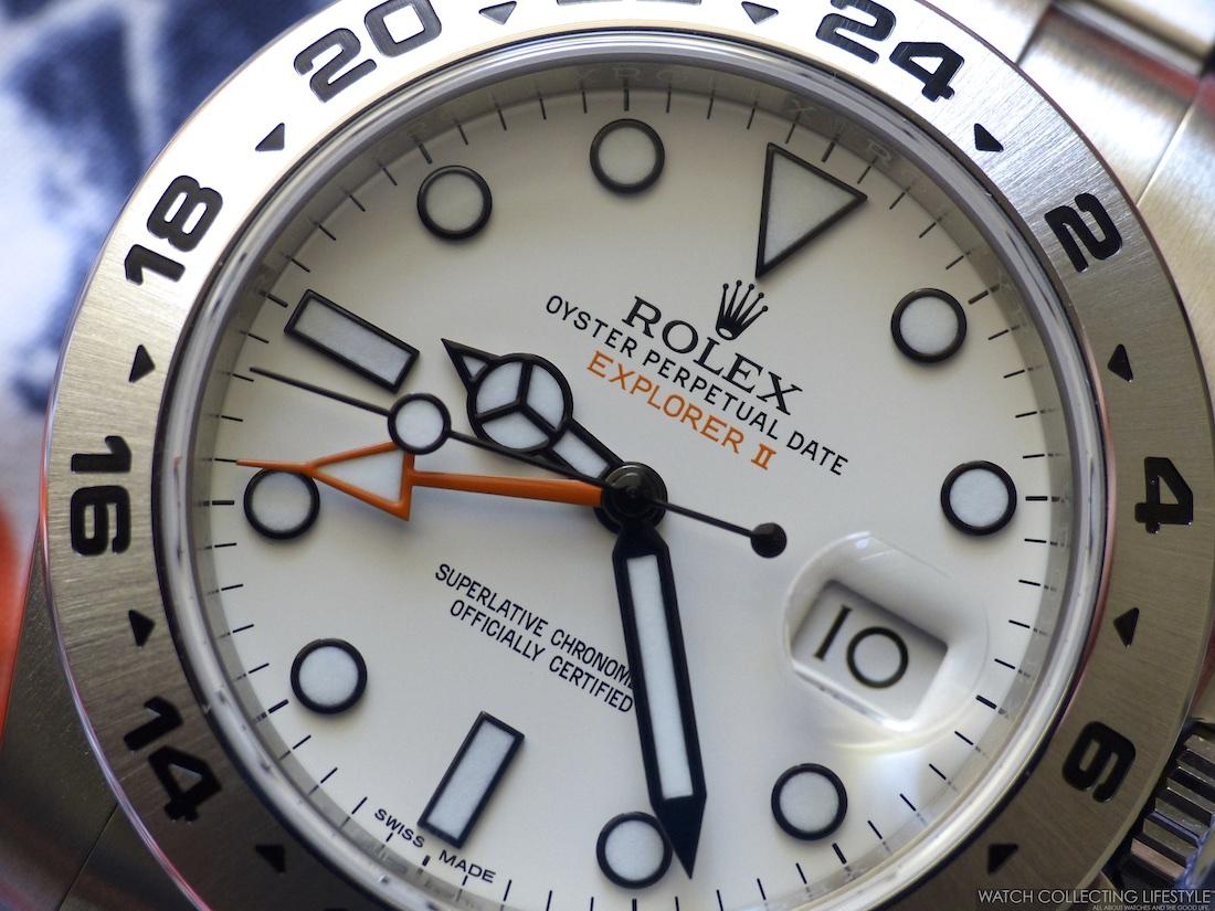 Insider Rolex Explorer II ref. 216570 White Dial a.k.a
