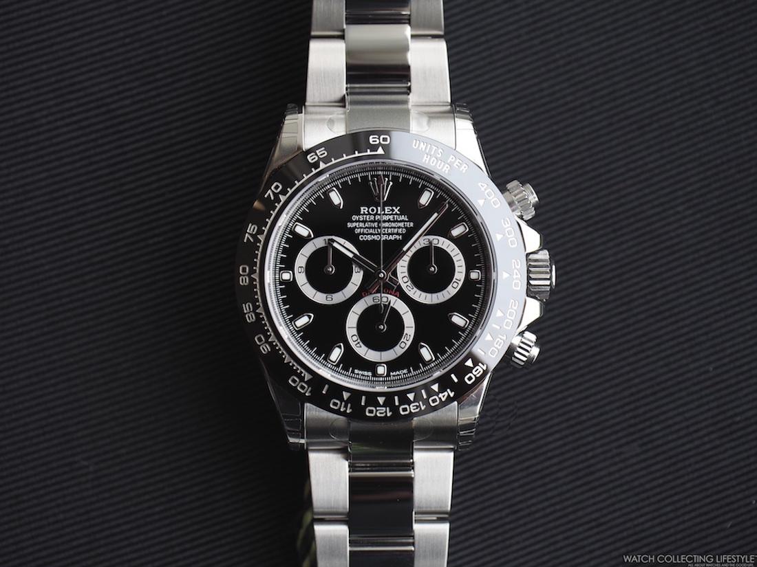 Insider Rolex Cosmograph Daytona Cerachrom Bezel ref