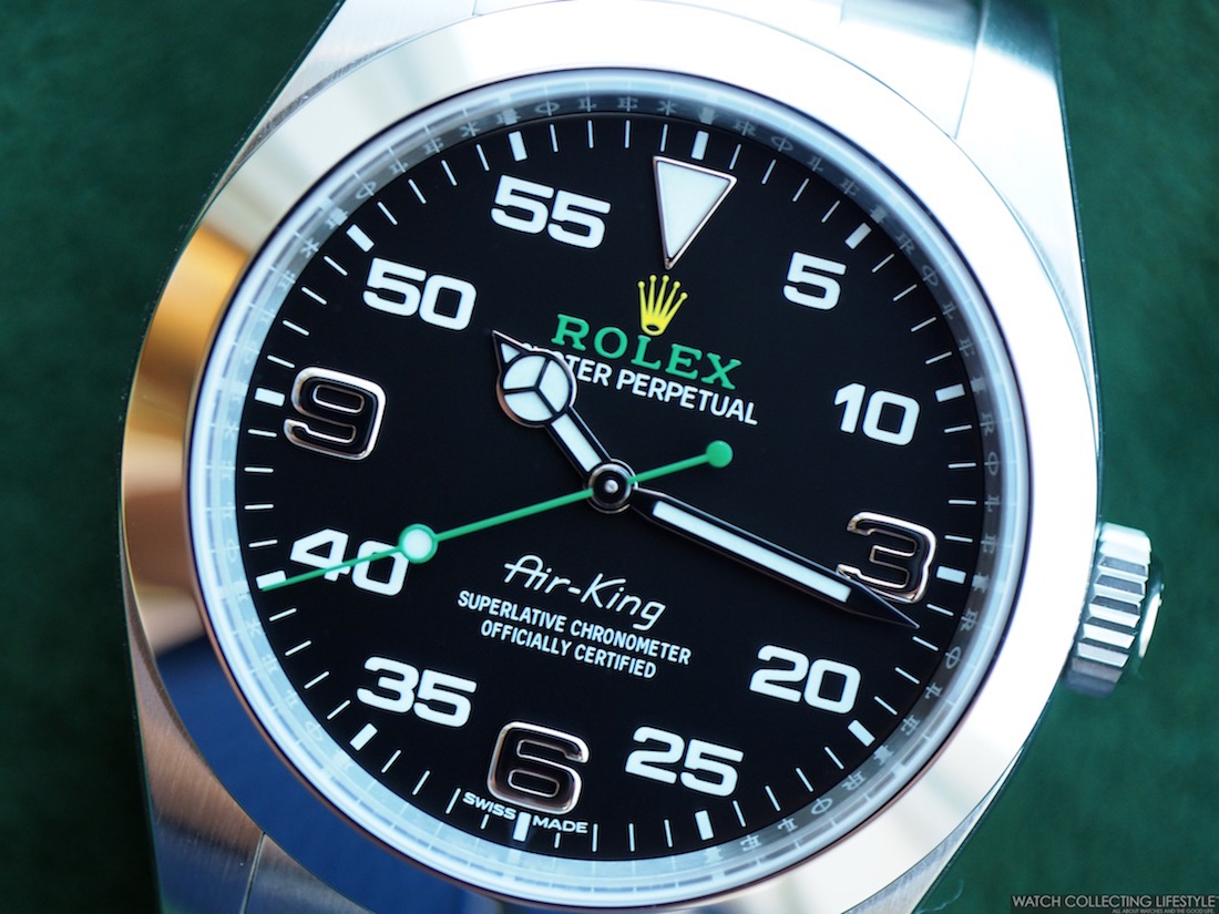 outlet store 01642 524c4 Insider: New Rolex Oyster Perpetual Air-King ref. 116900 ...