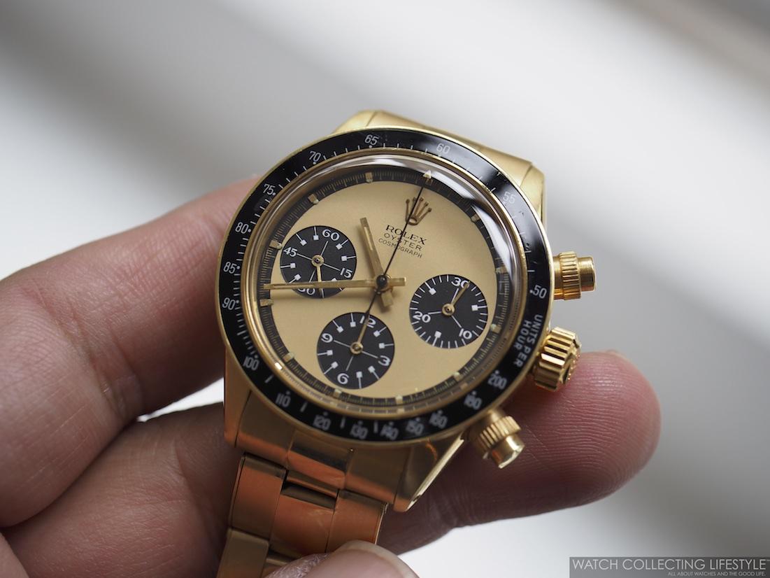 Rolex Paul Newman Daytona ref. 6263 a.k.a \u0027The Legend\u0027 from