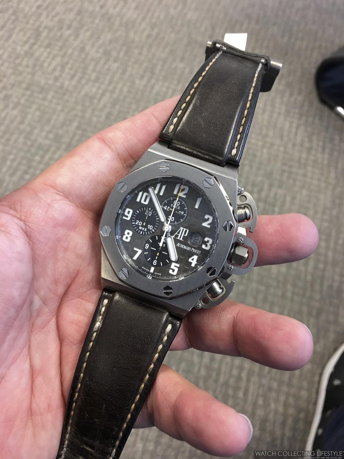 Audemars Piguet Chronograph Bezel Protector