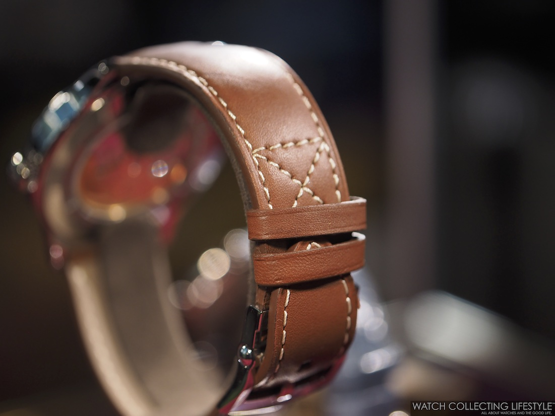 Patek Philippe Calatrava Pilot Watch ref. 5522 New York 2017 Special Edition strap