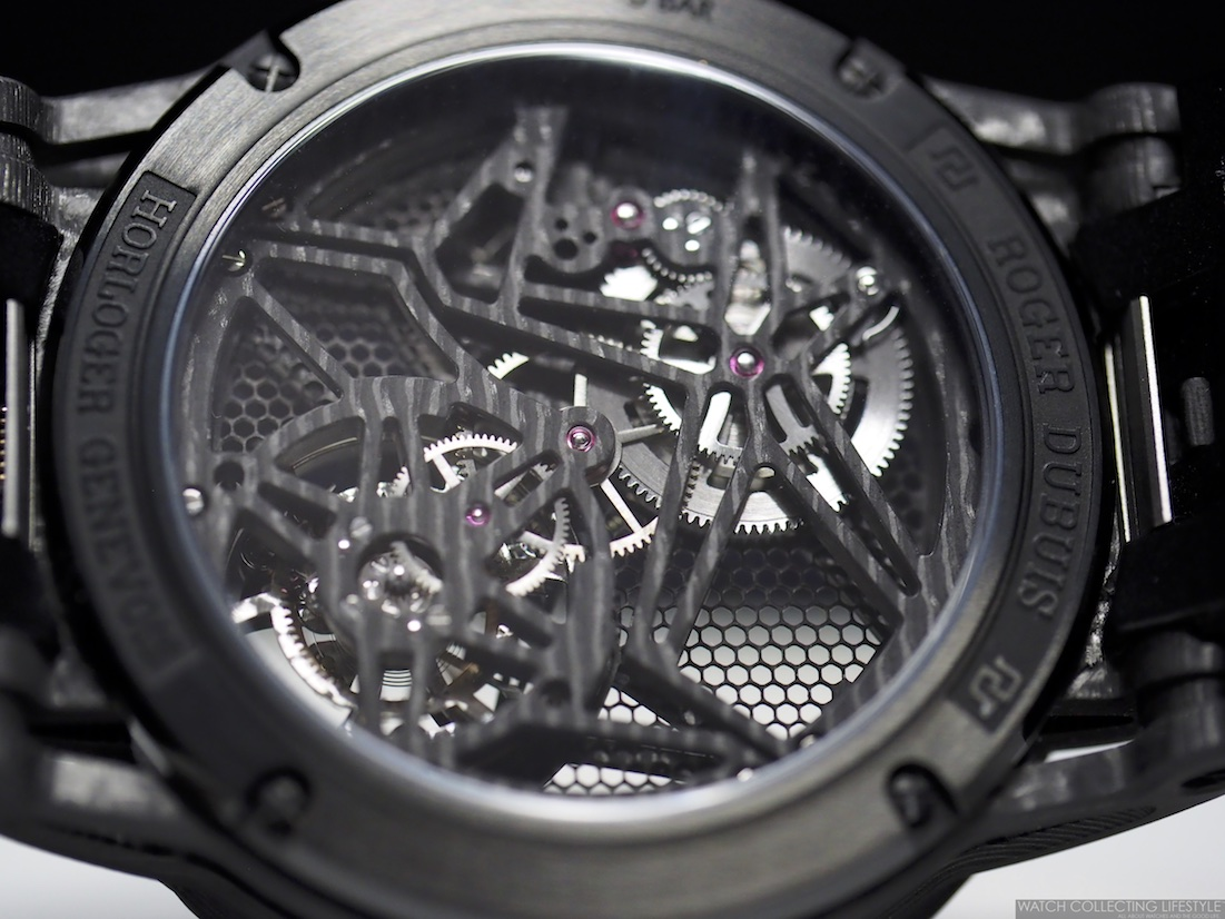 Roger Dubuis RD820SQ Calibre Movement