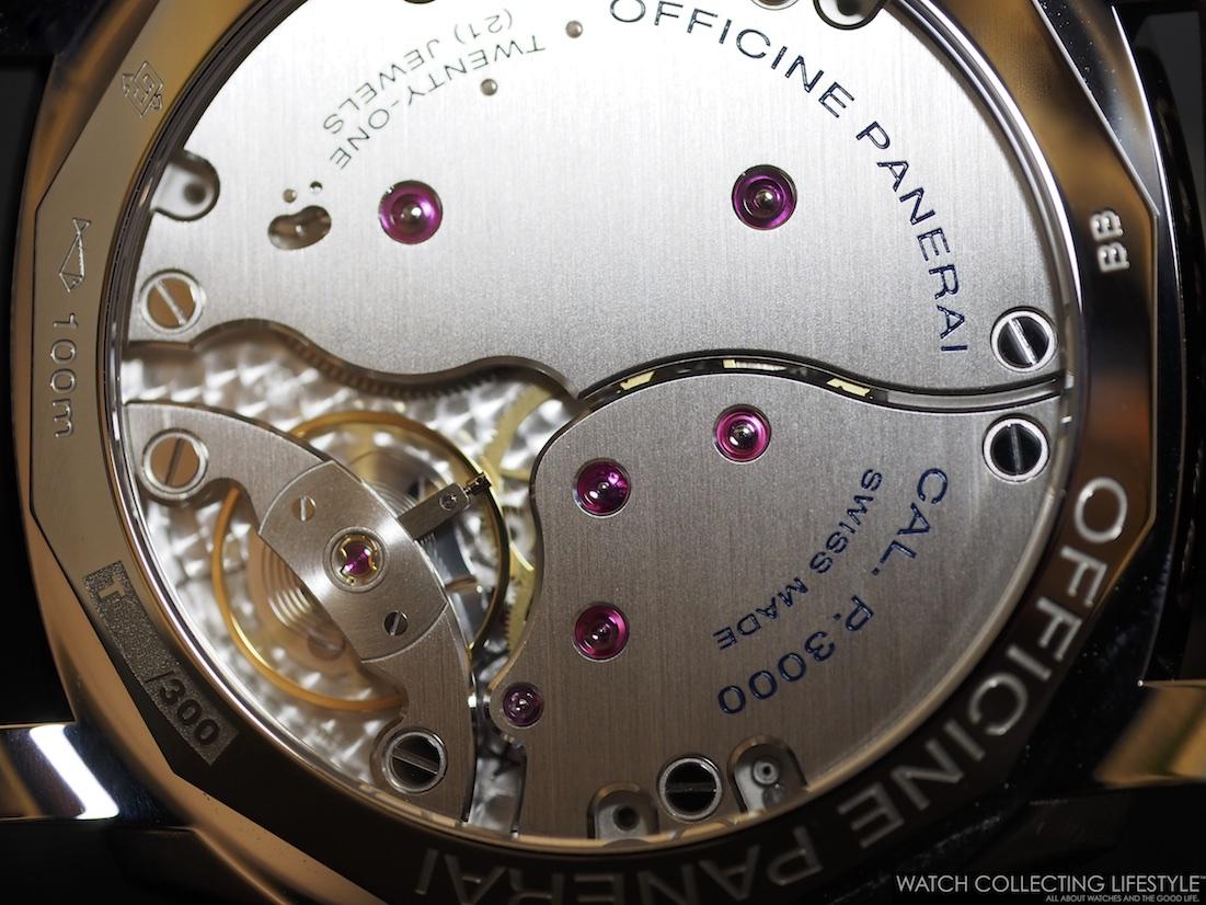 Panerai Calibre P.3000 Watch Movement