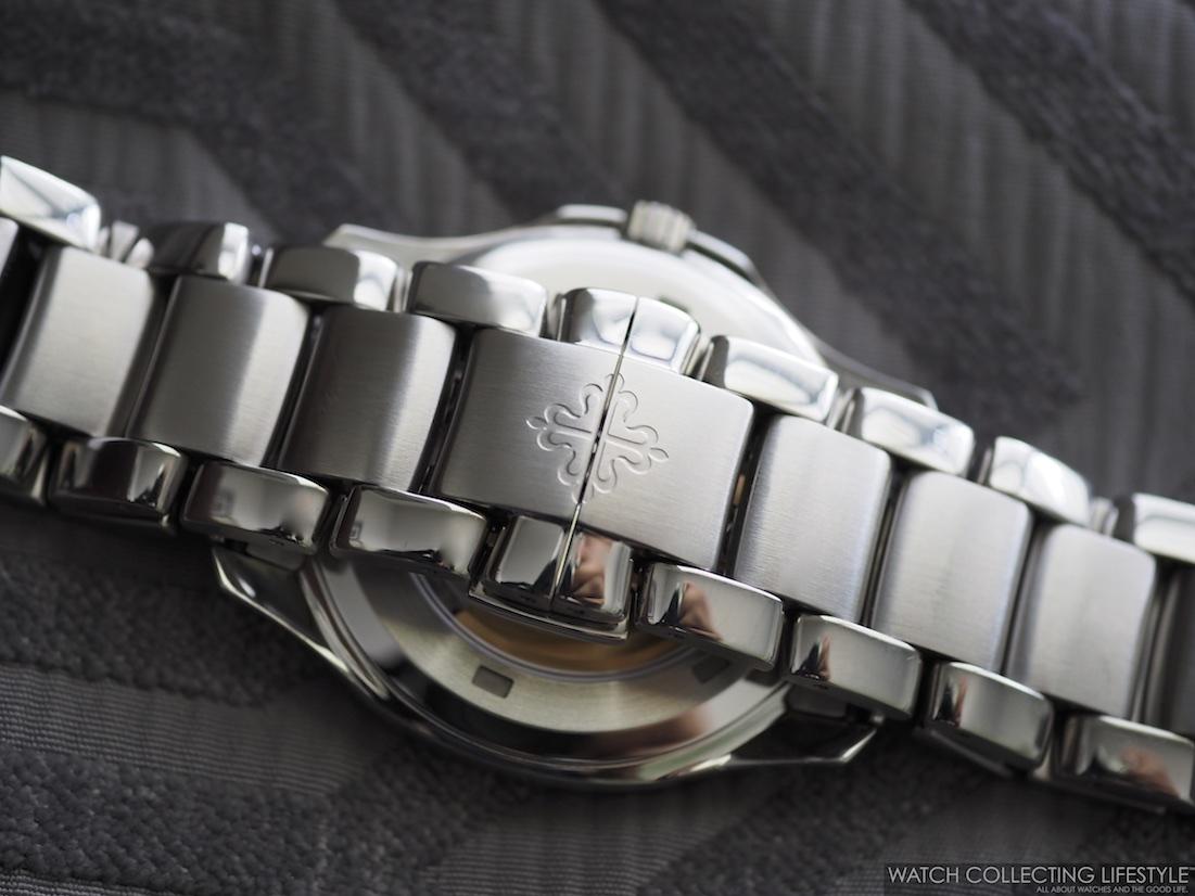 Patek Philippe Aquanaut on Bracelet