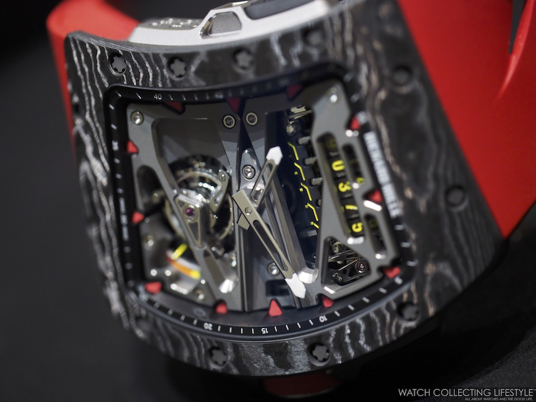 Richard Mille RM 70-01 Tourbillon Alain Prost Case