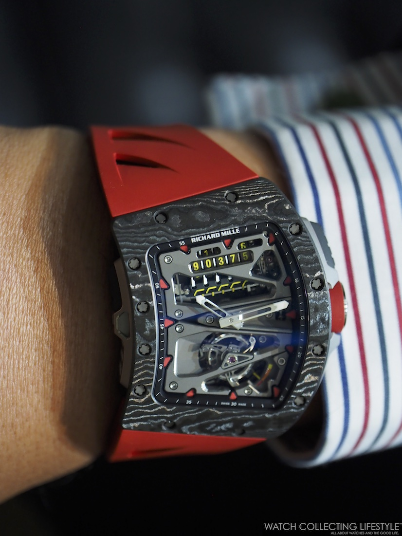 Richard Mille RM 70-01 Tourbillon Alain Prost Wrist Shot