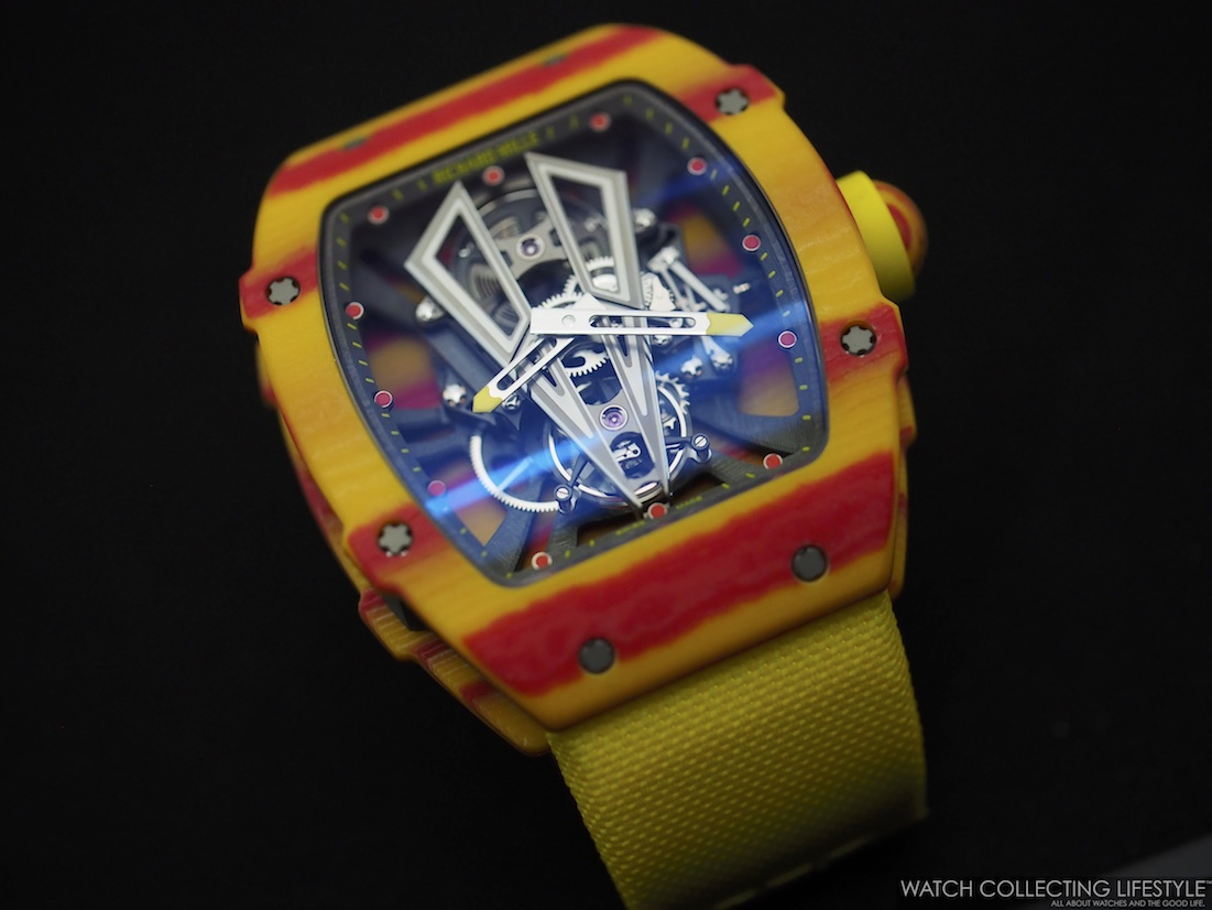 Insider Richard Mille Rm 27 03 Tourbillon Rafael Nadal Hands On With A Featherweight And Colorful Rm Perfect For Halloween Watch Collecting Lifestyle