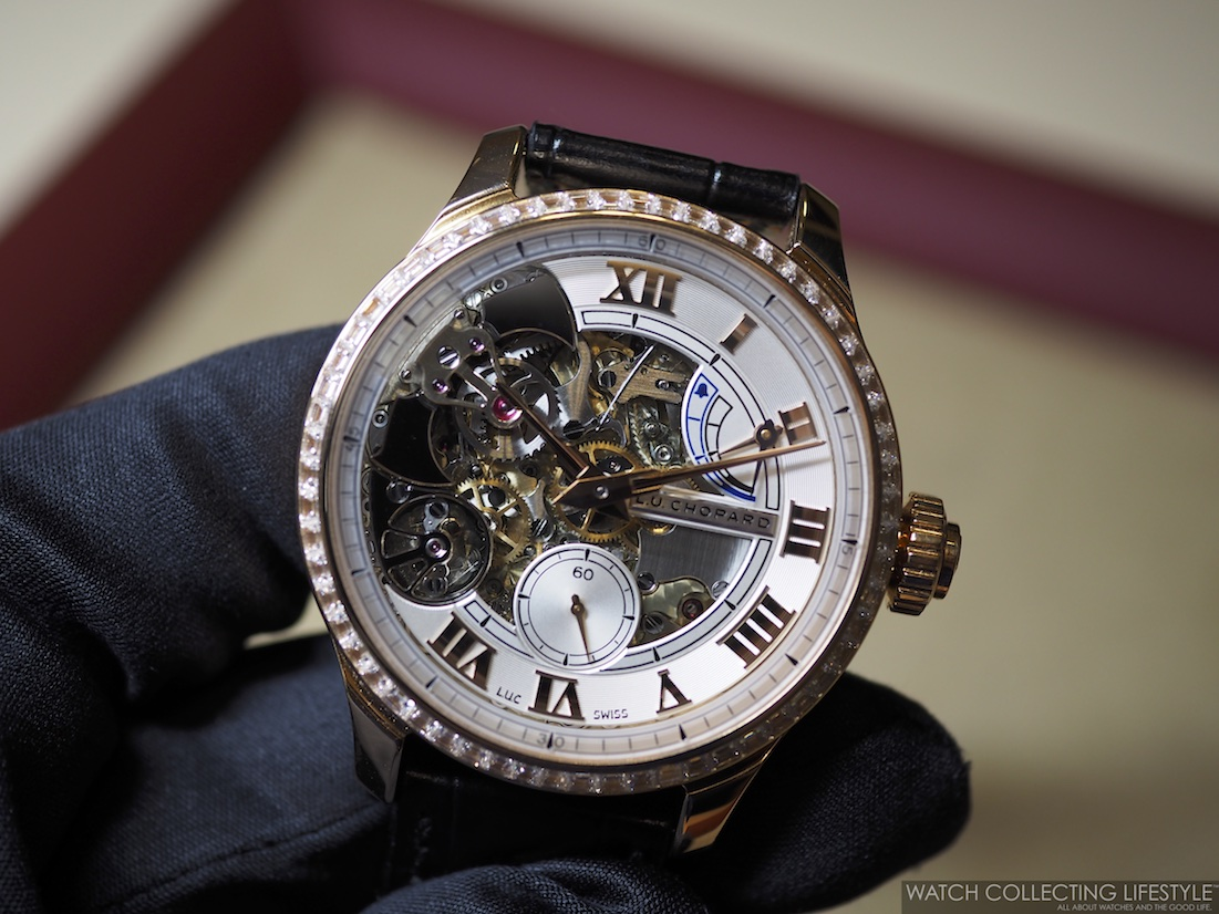 Chopard L.U.C. Full Strike on Hand Live Picture