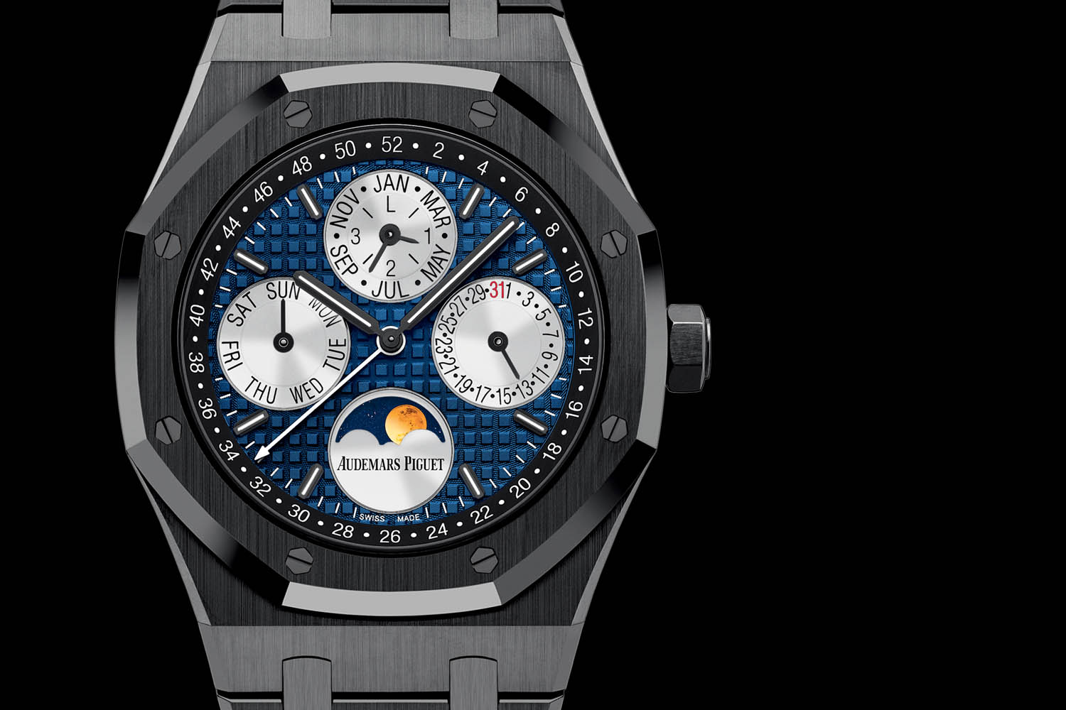 Audemars Piguet Royal Oak Perpetual Calendar ONLY Watch Piece Unique