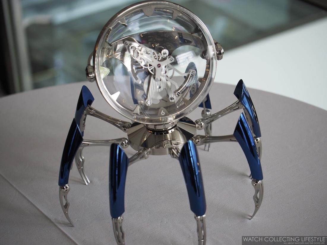 MB&F Octopod Clock Blue