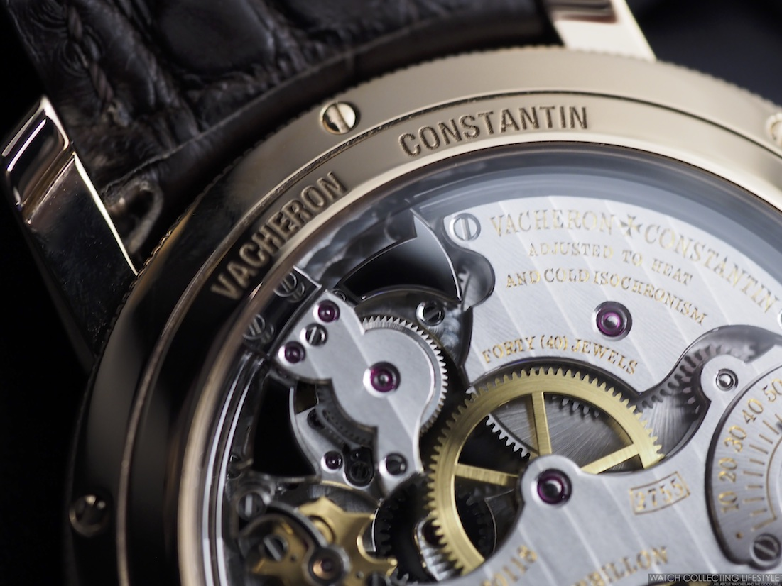 Vacheron Constantin Traditionelle Minute Repeater Hammers