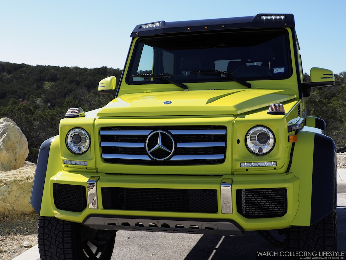 Mercedes-Benz G Wagon 4 x 4 Squared WCL2