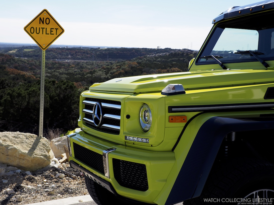 Mercedes-Benz G Wagon 4 x 4 Squared WCL3