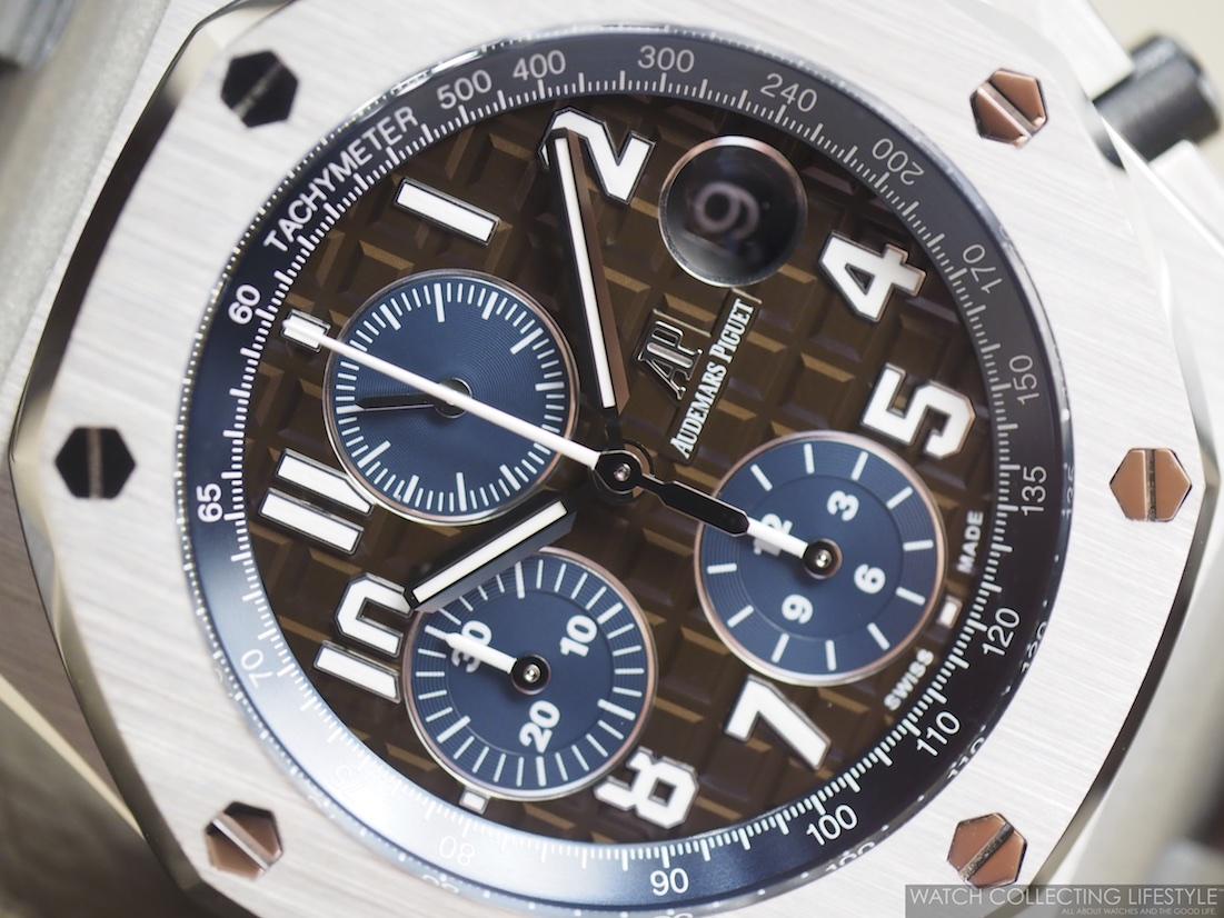 Audemars Piguet Royal Oak Offshore Havana Brown Dial