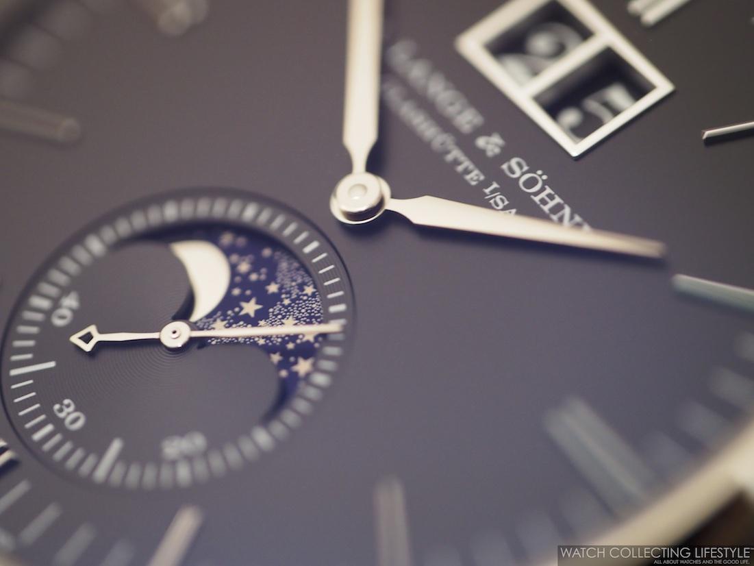 A. Lange & Söhne Saxonia Moonphase Black Dial