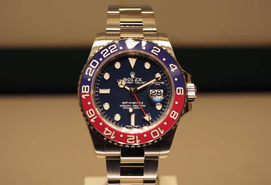 Rolex GMT Master II White Gold Pepsi ref. 116719BLRO