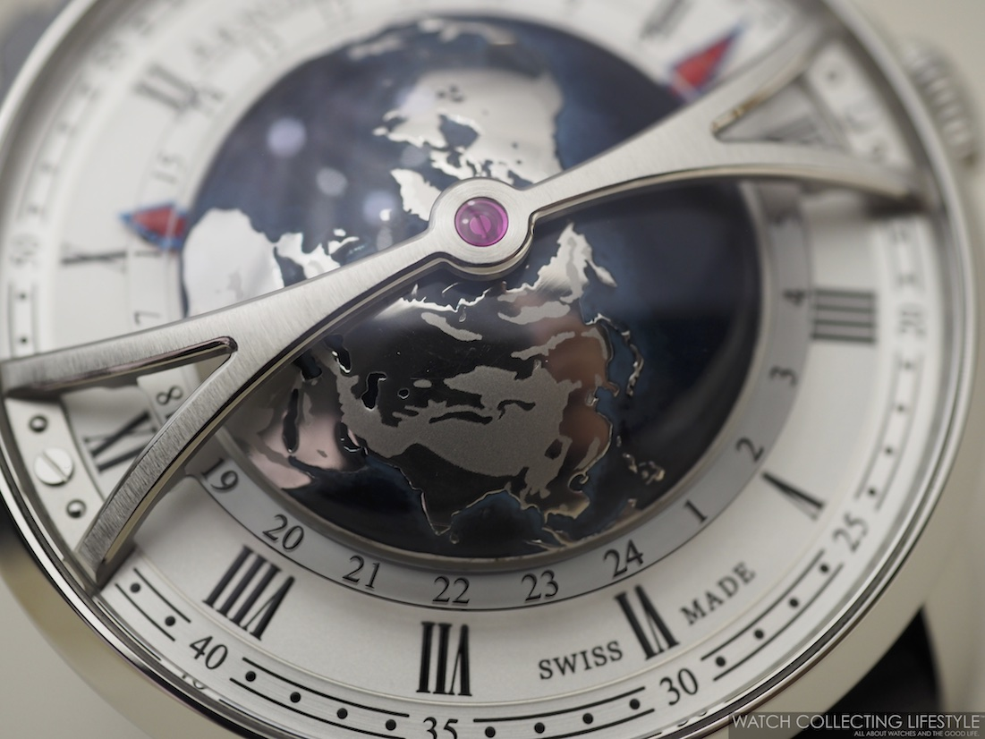 Arnold & Son Globetrotter Macro WCL