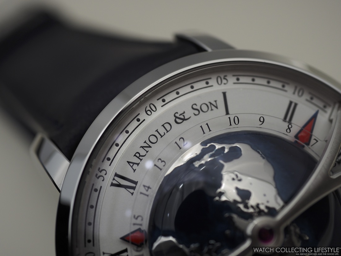 Arnold & Son Globetrotter Macro WCL 2