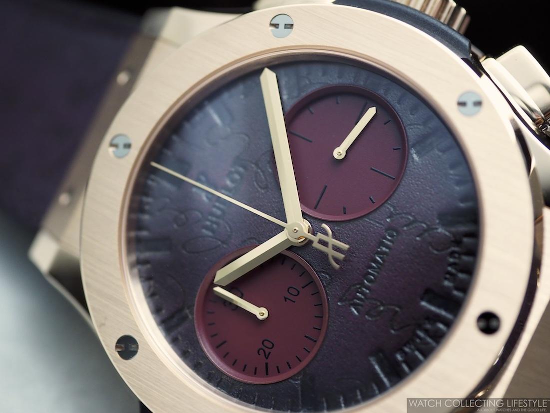 Hublot Classic Fusion Chronograph Berluti Scritto Bordeaux