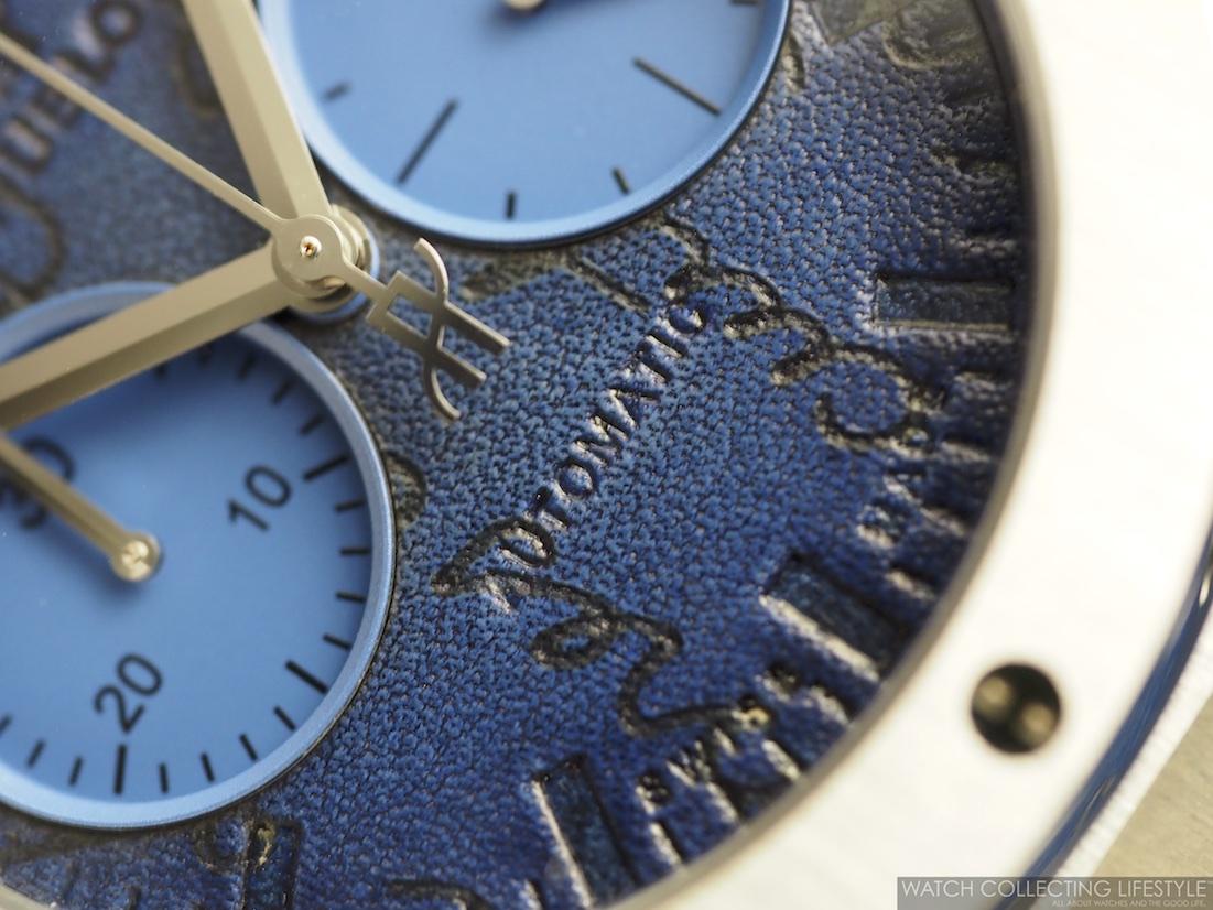 Hblot Classic Fusion Chronograph Berluti Scritto Ocean Blue