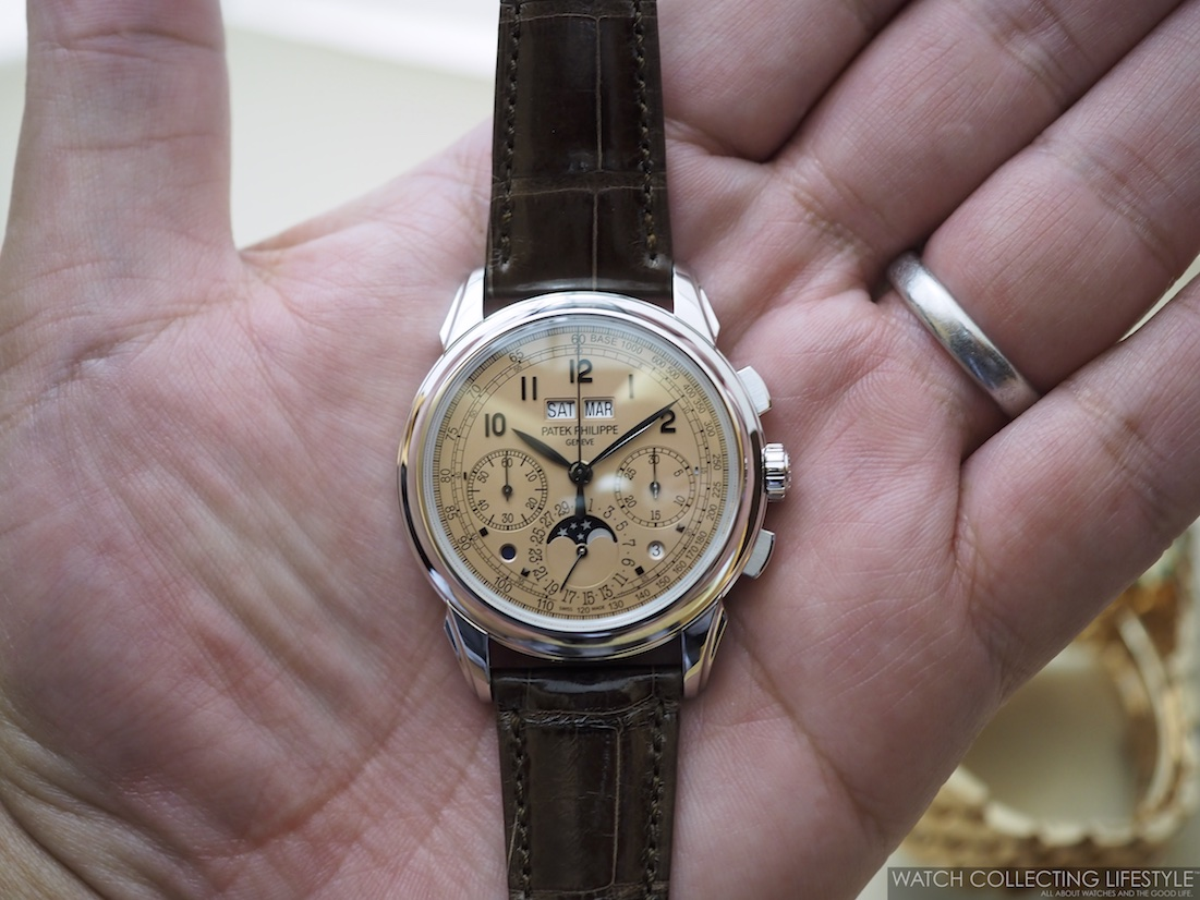 Patek Philippe ref. 5270P in Platinum with Salmon Dial WCL6