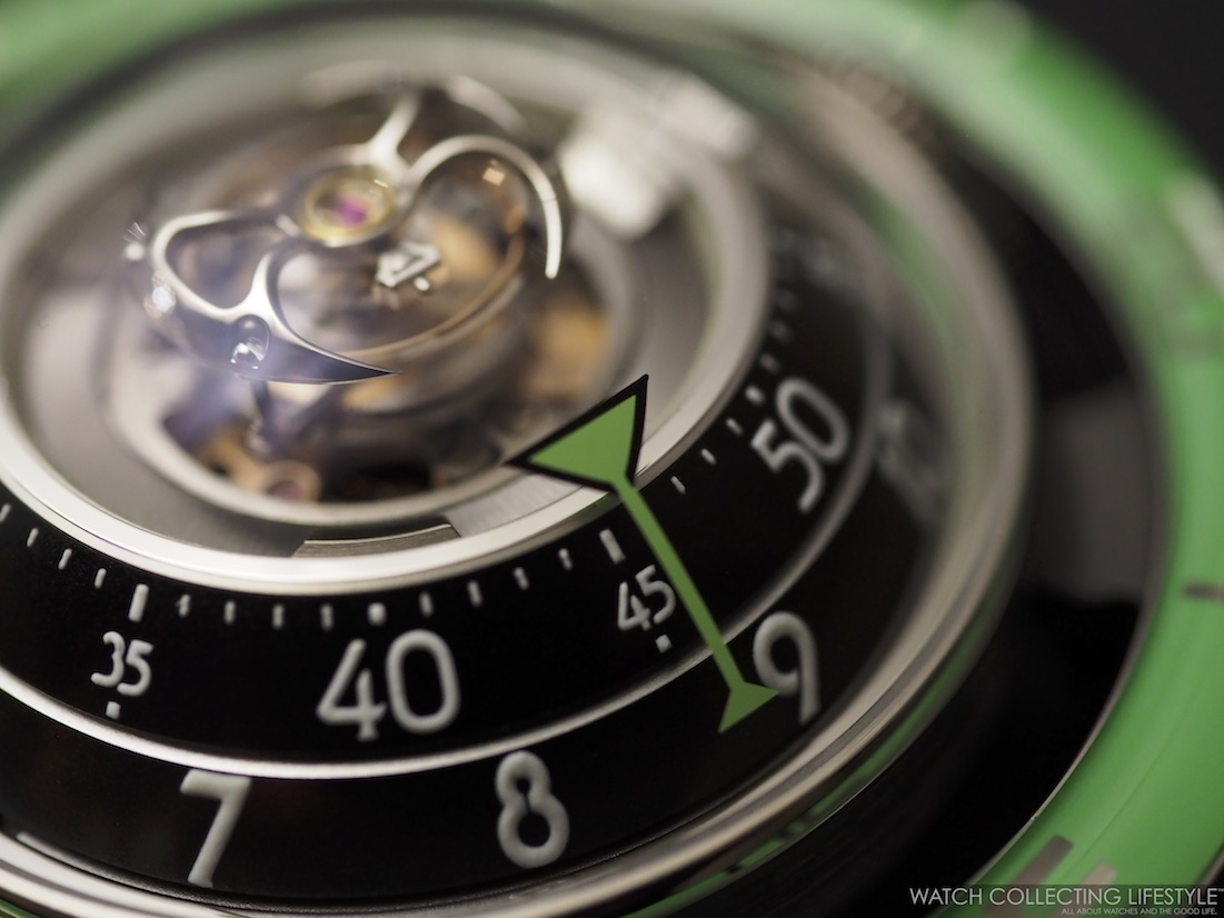 MB&F Horological Machine No. 7 HM7 Aquapod Green WCL
