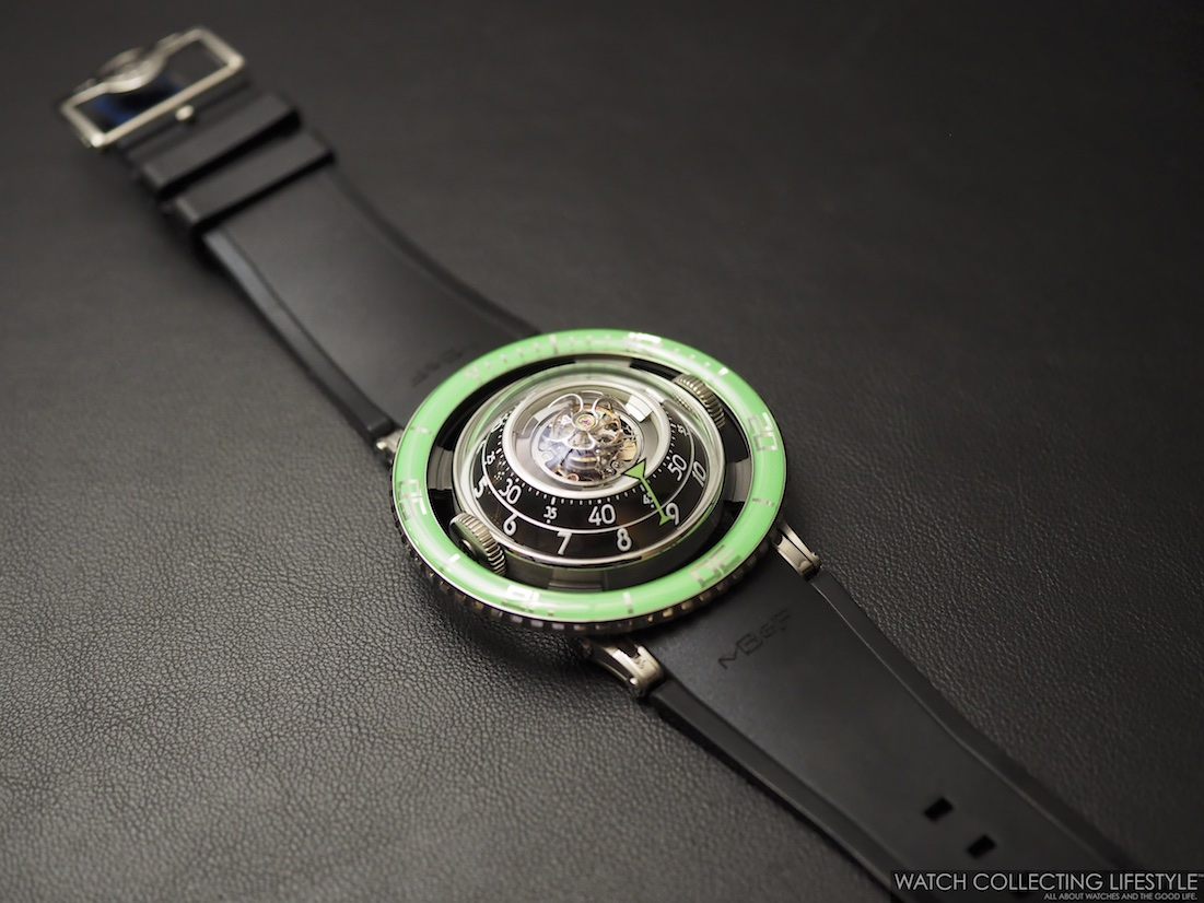 MB&F Horological Machine No. 7 HM7 Aquapod Green WCL2