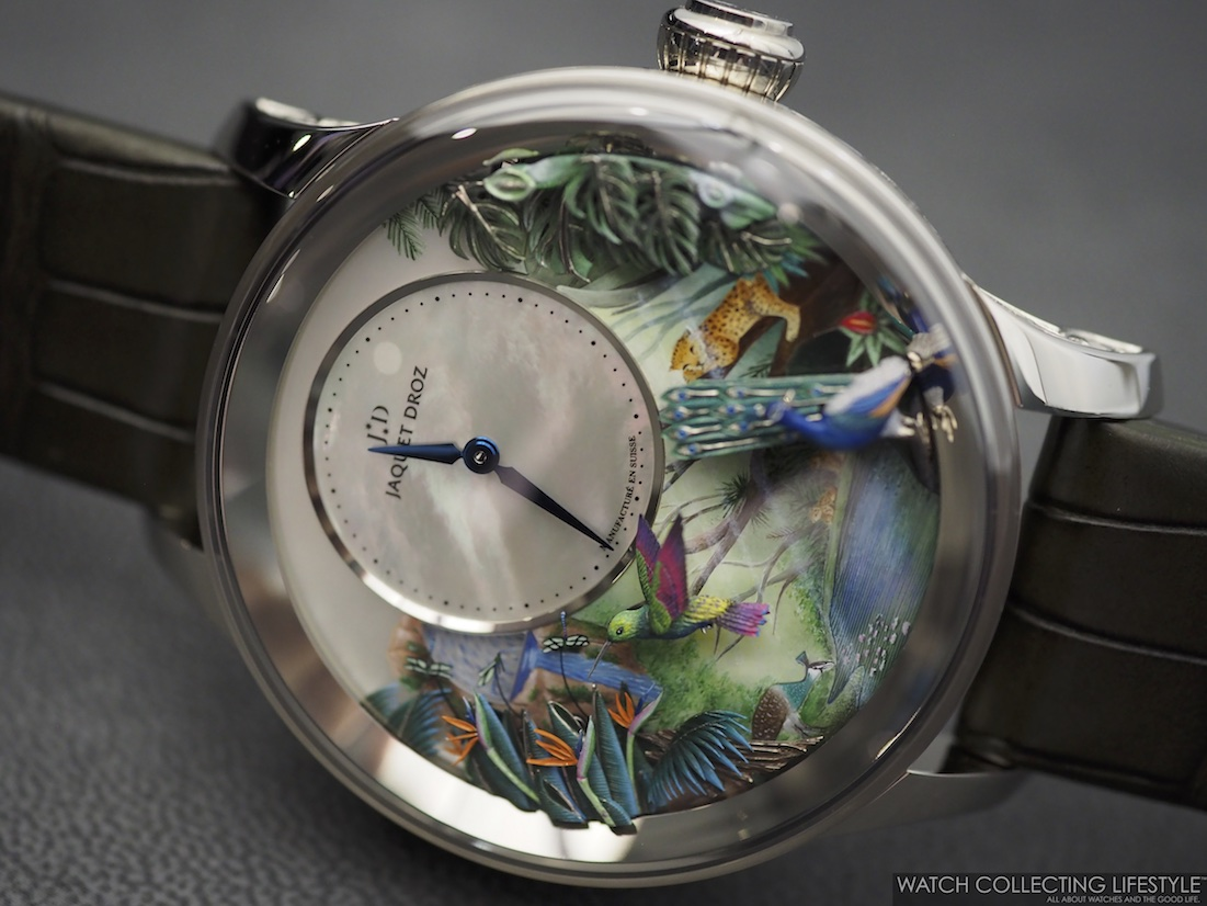 Jaquet Droz Tropical Bird Repeater WCL
