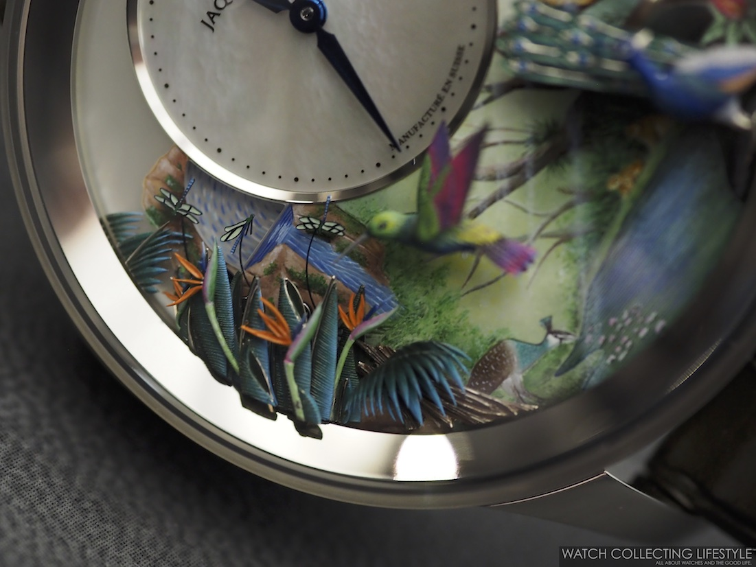 Jaquet Droz Tropical Bird Repeater WCL4