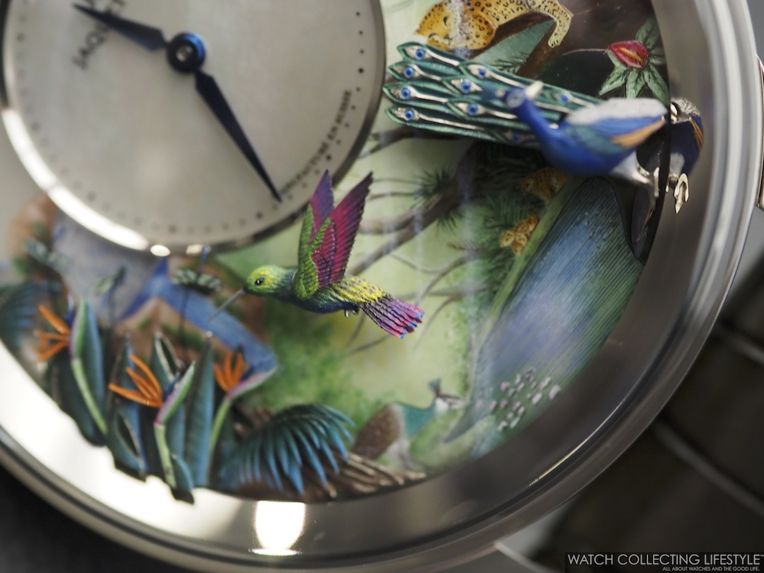 Jaquet Droz Tropical Bird Repeater WCL5