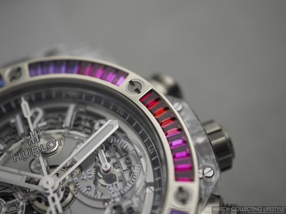 Hublot Big Bang Unico Sapphire Rainbow WCL