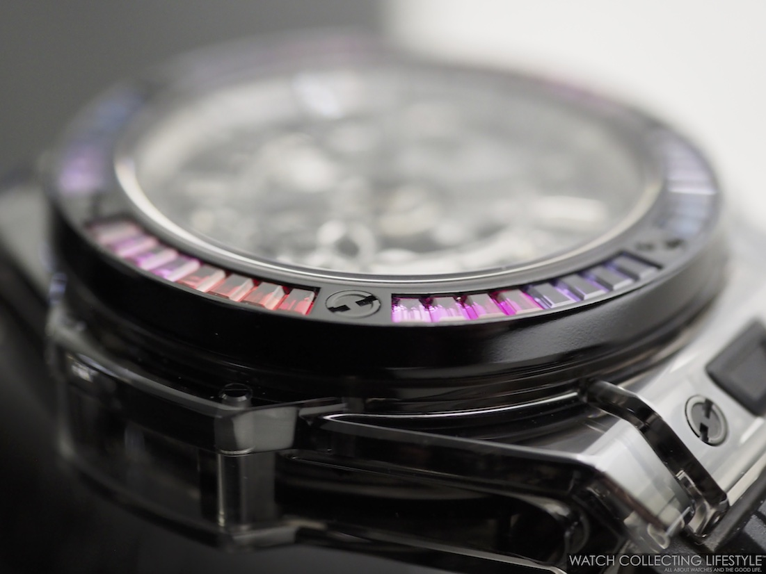Hublot Big Bang Unico Sapphire Black Rainbow