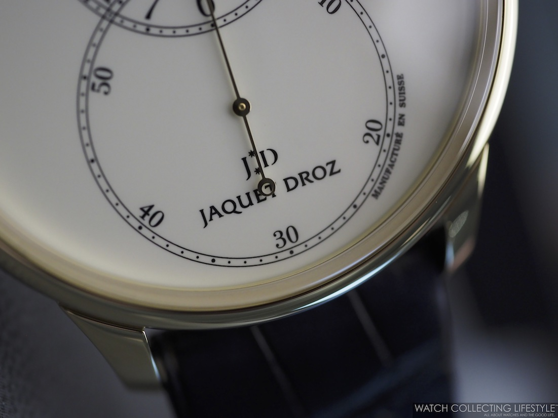 Jaquet Droz Grande Seconde Enamel WCL3