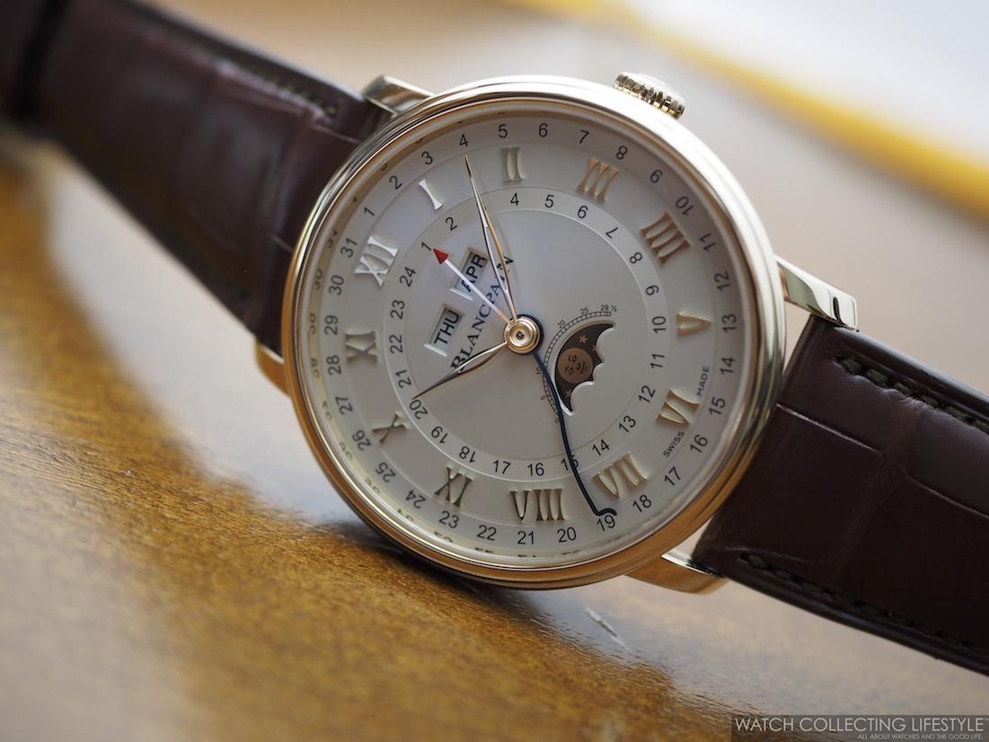 Blancpain Villeret Complete Calendar GMT WCL2