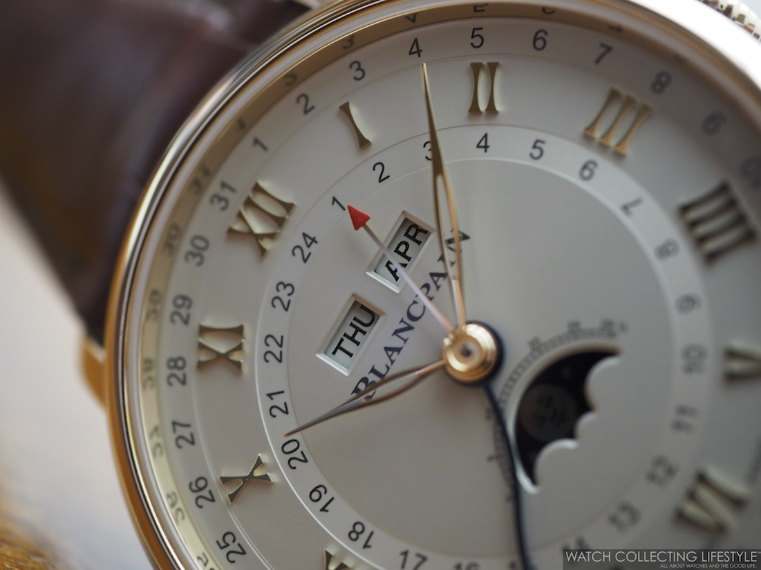 Blancpain Villeret Complete Calendar GMT WCL4