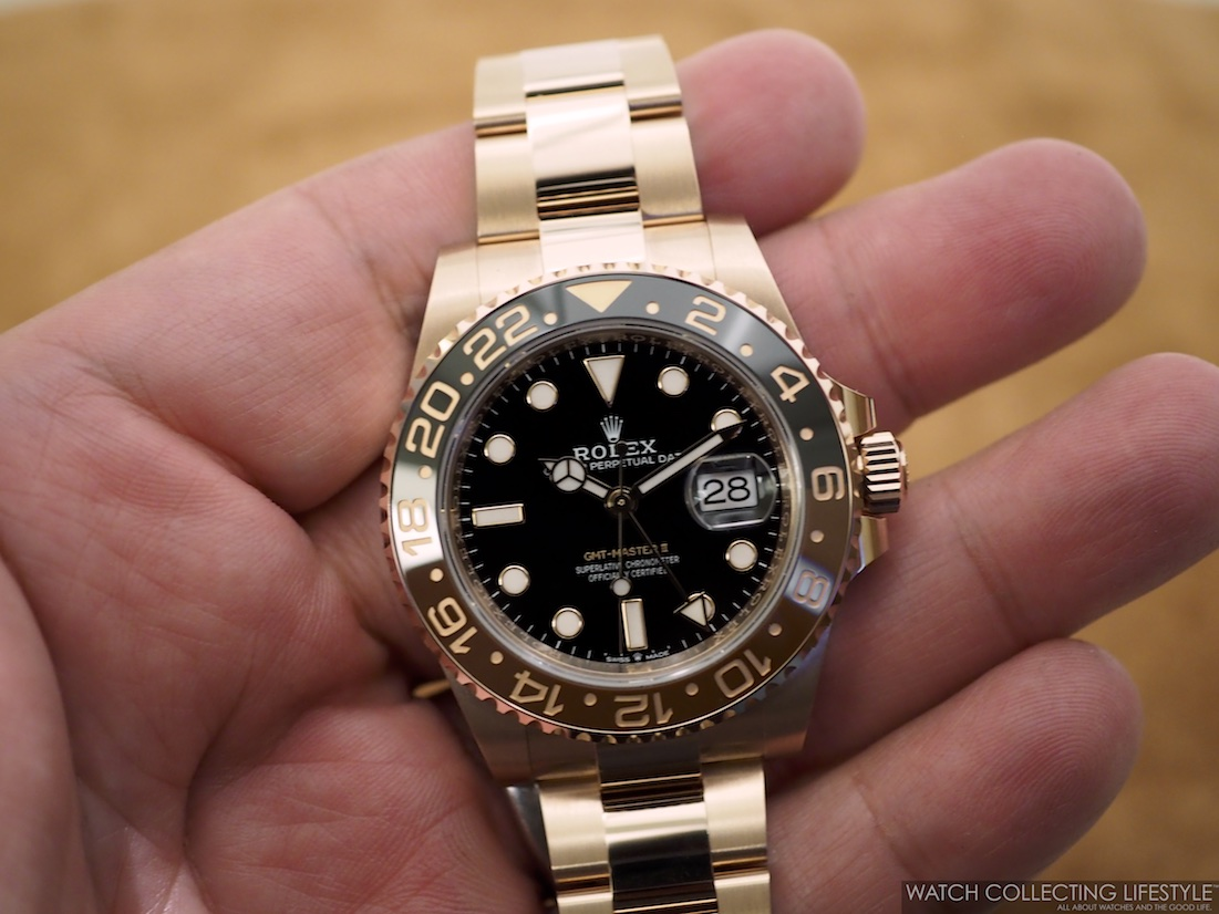 Insider Rolex Gmt Master Ii Everose Gold Ref 126715chnr A K A Rootbeer One Of The Hottest Watches For The Summer And The Fall Watch Collecting Lifestyle