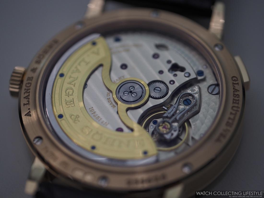 A. Lange & Söhne Saxonia Outsize Date Calibre L086.8