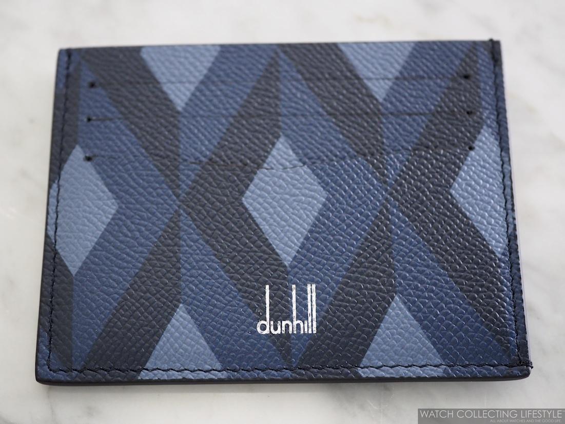 Dunhill Cadogan Engine-Turn Slip Card Case