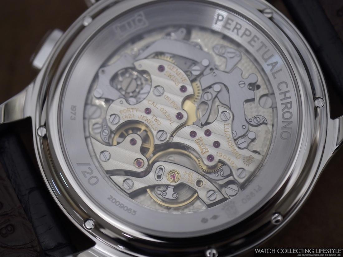 Chopard L.U.C Perpetual Chronograph Platinum Calibre 03.10L