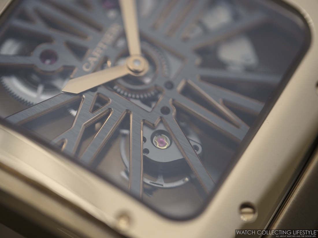 Santos de Cartier Skeleton Large WCL Macro 2