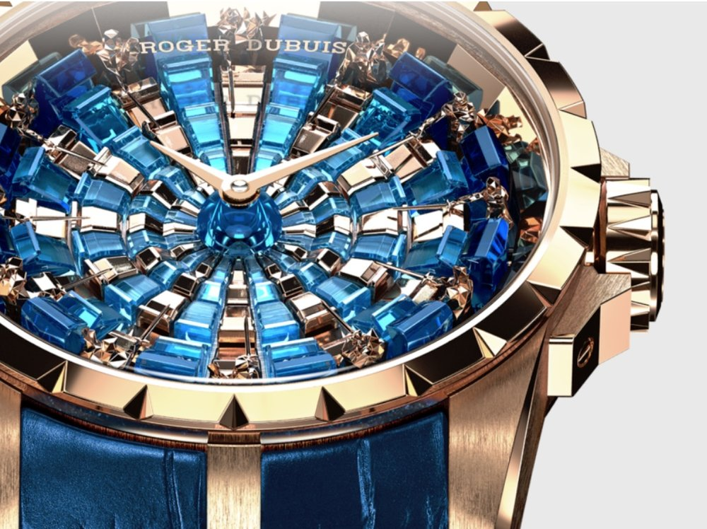 News Roger Dubuis Excalibur Knights Of, Round Table Watch