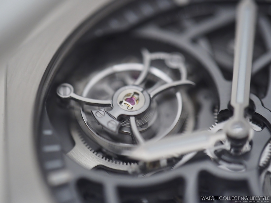 Girard-Perregaux Laureato Flying Tourbillon Skeleton Macro WCL