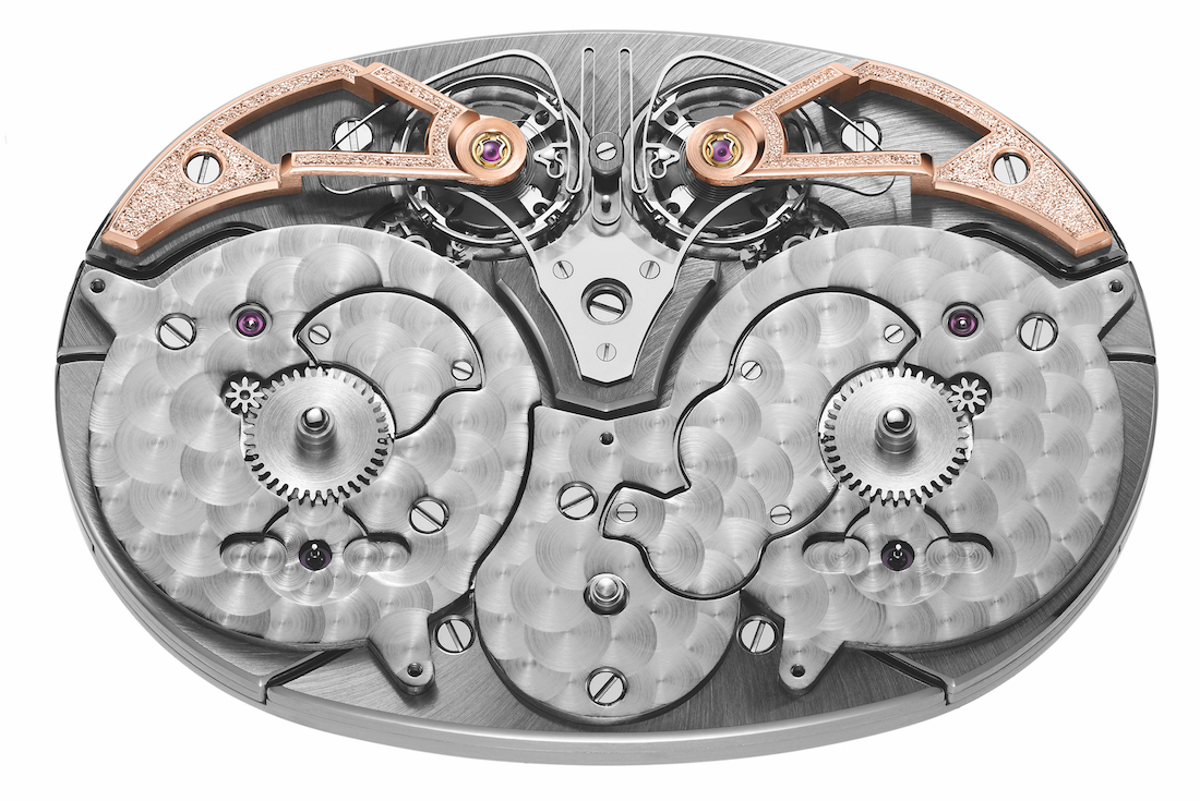 Armin Strom Dual Time Resonance Movement Front