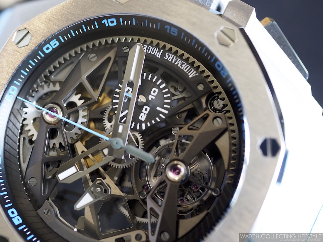 Audemars Piguet Royal Oak Concept Tourbillon Chronograph Openworked WCL