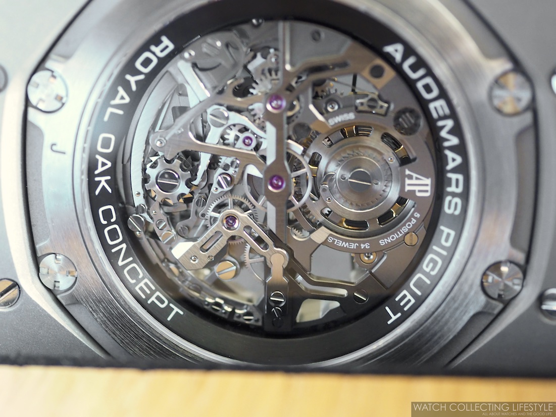 Audemars Piguet Royal Oak Concept Tourbillon Chronograph Openworked ref. 26587TI