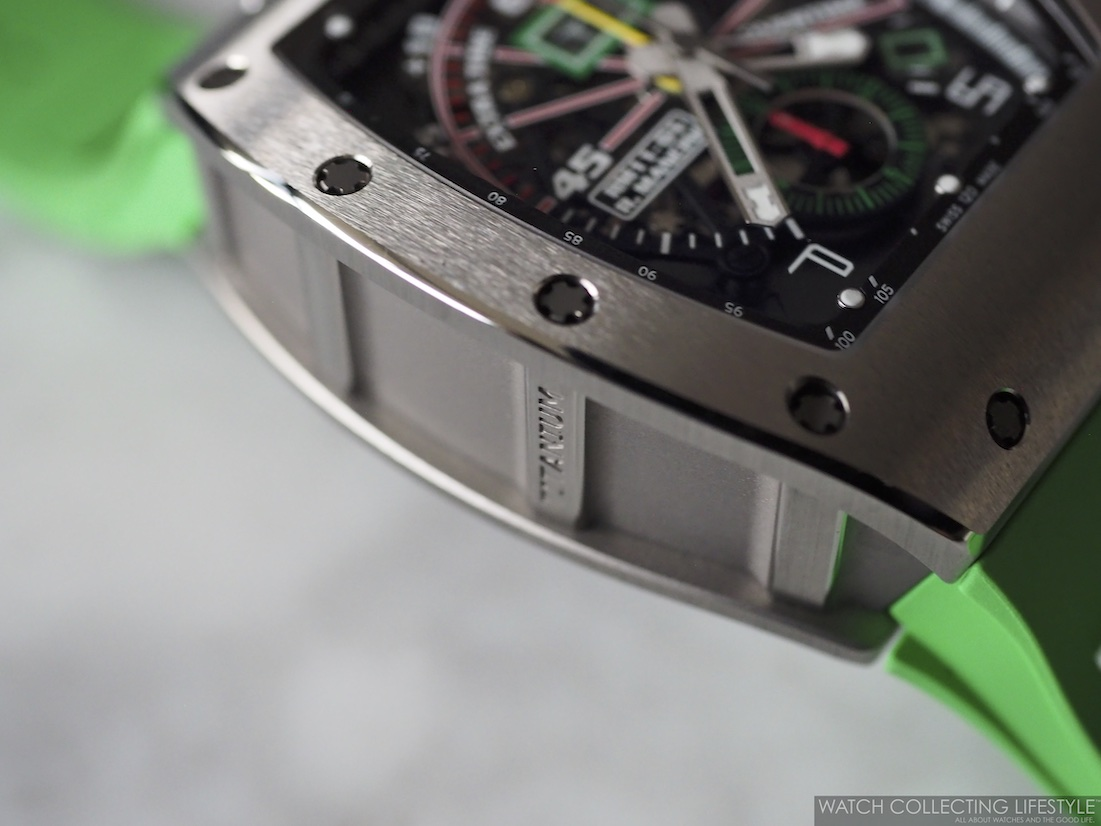 Richard Mille RM11-01 Roberto Mancini Case Profile