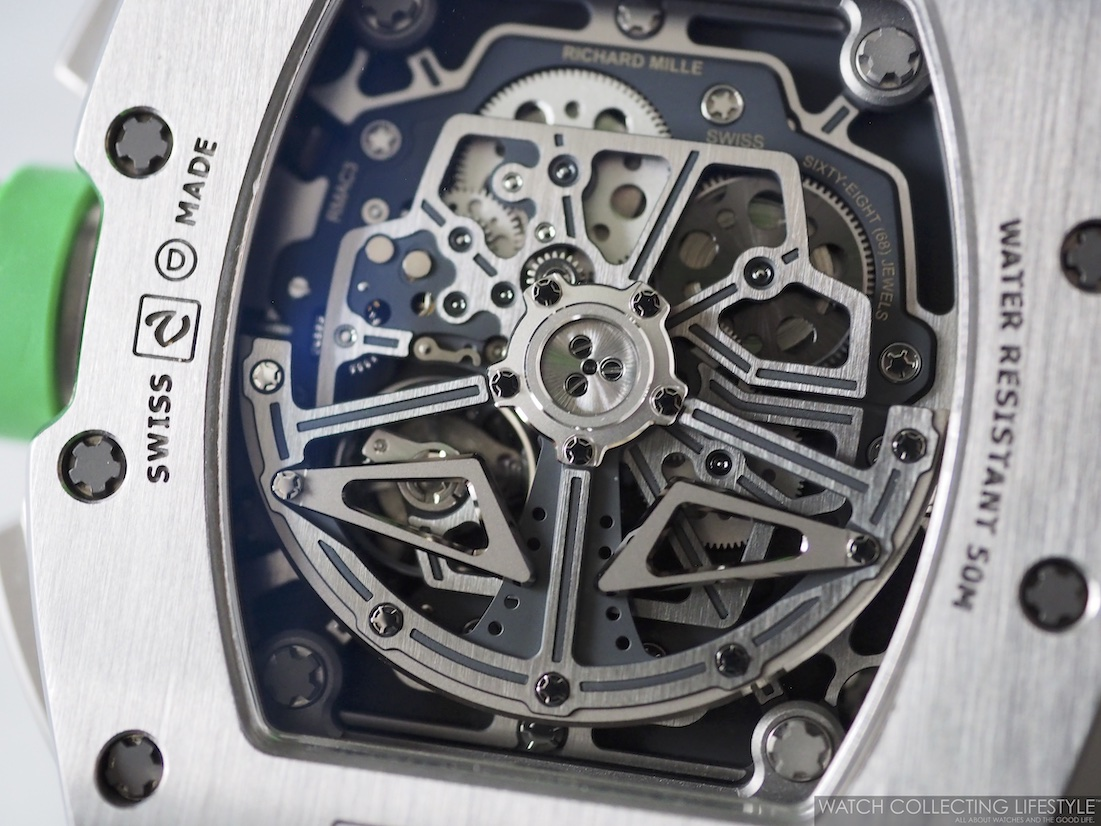 Richard Mille RM11-01 Roberto Mancini Case Back